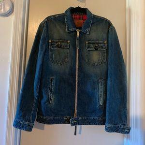 Dsquared2 Denim Jacket wool lined